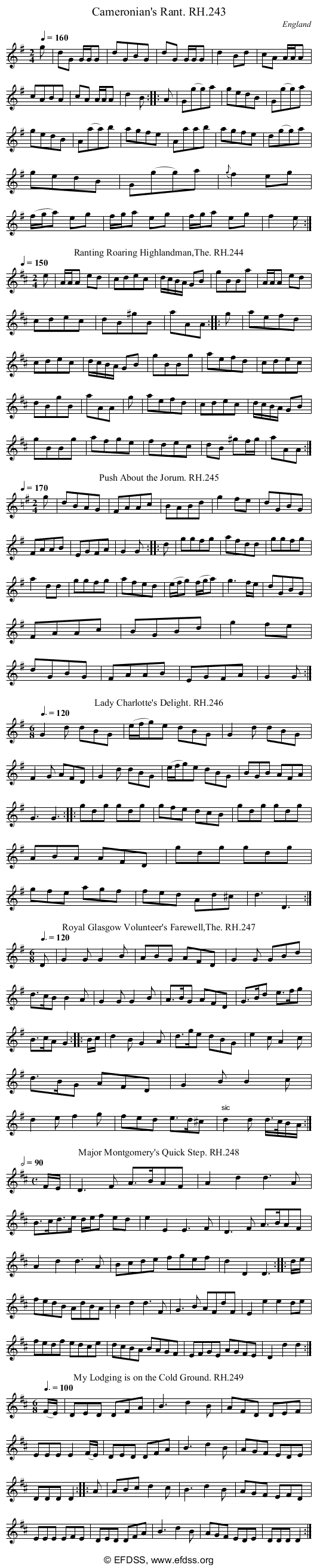 Stave transcription of image number 0 for 18473/p75
