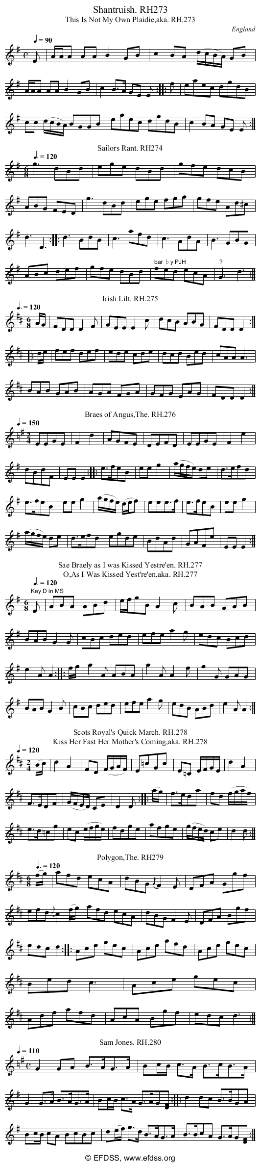 Stave transcription of image number 0 for 18473/p79