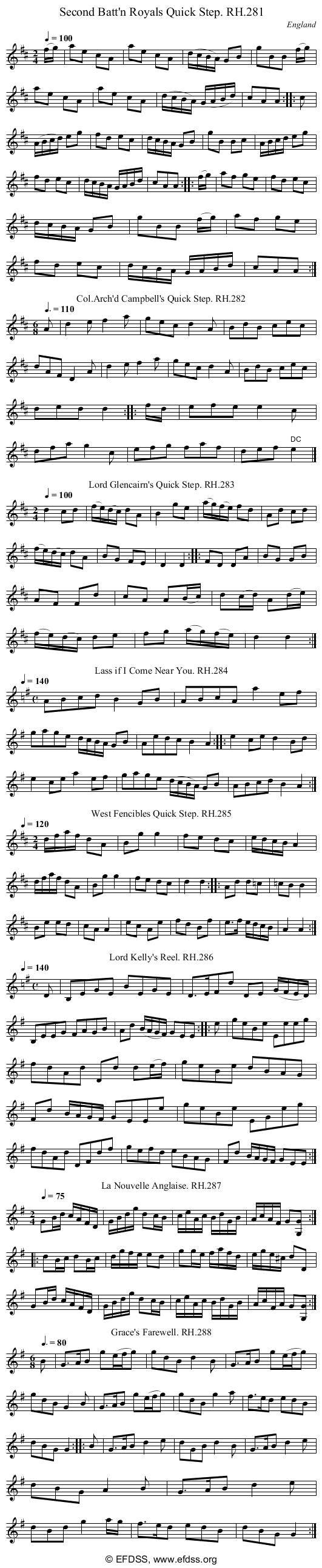 Stave transcription of image number 0 for 18473/p80