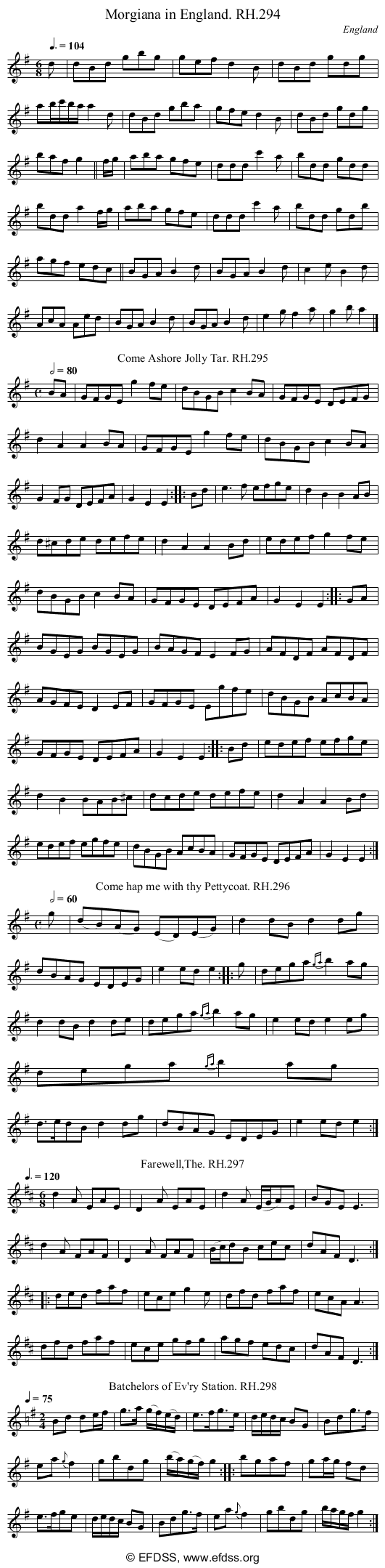 Stave transcription of image number 0 for 18473/p82