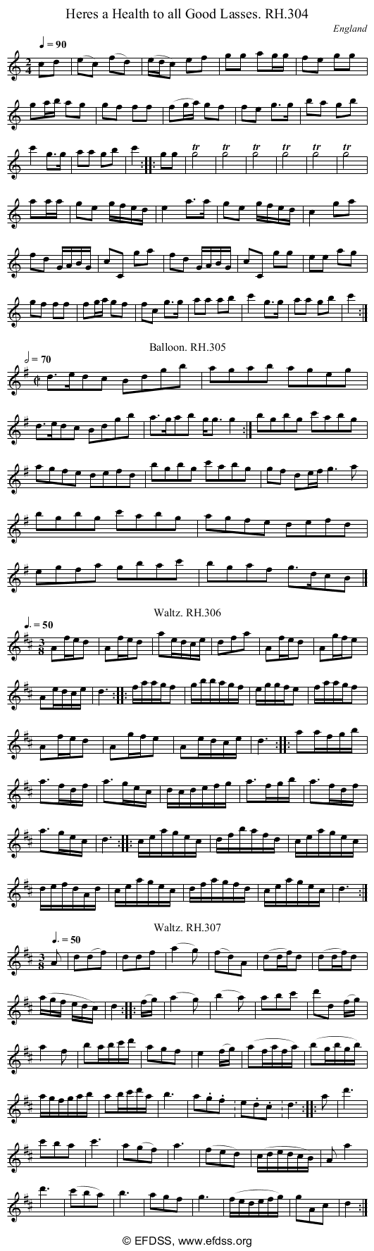 Stave transcription of image number 0 for 18473/p84