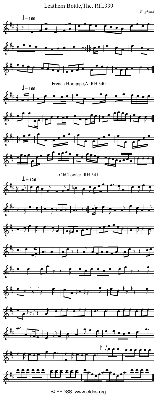 Stave transcription of image number 0 for 18473/p93