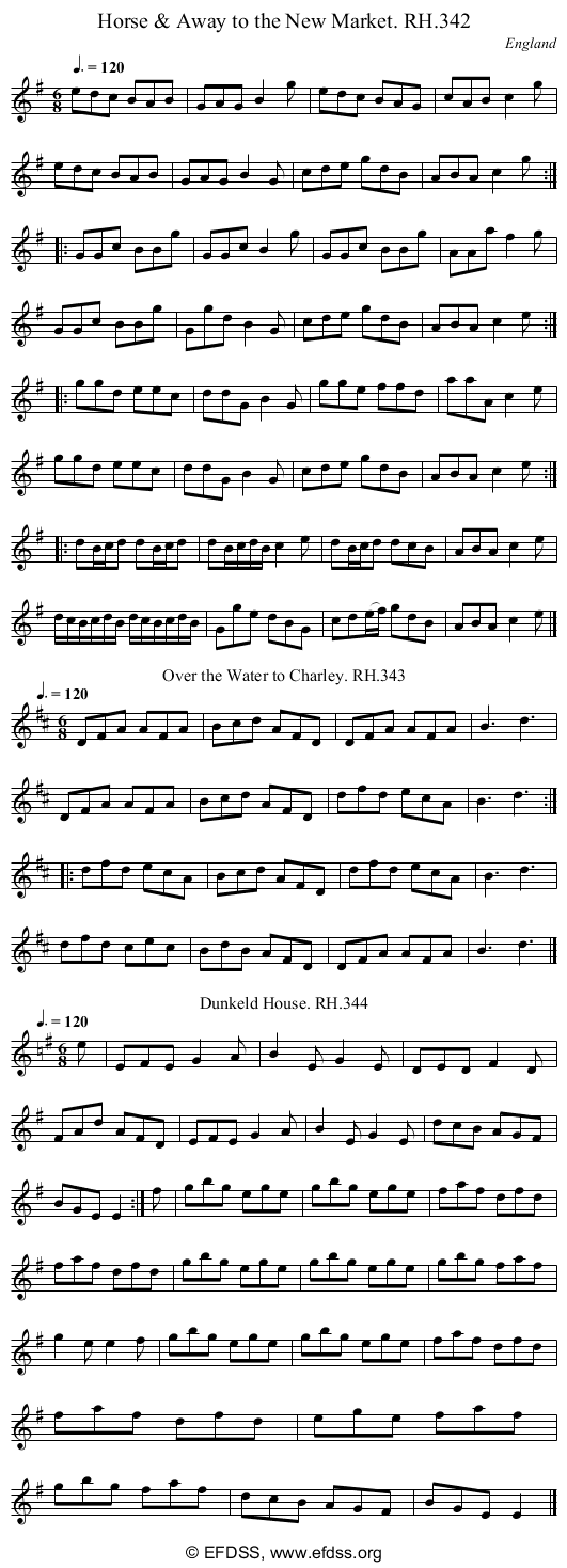 Stave transcription of image number 0 for 18473/p94