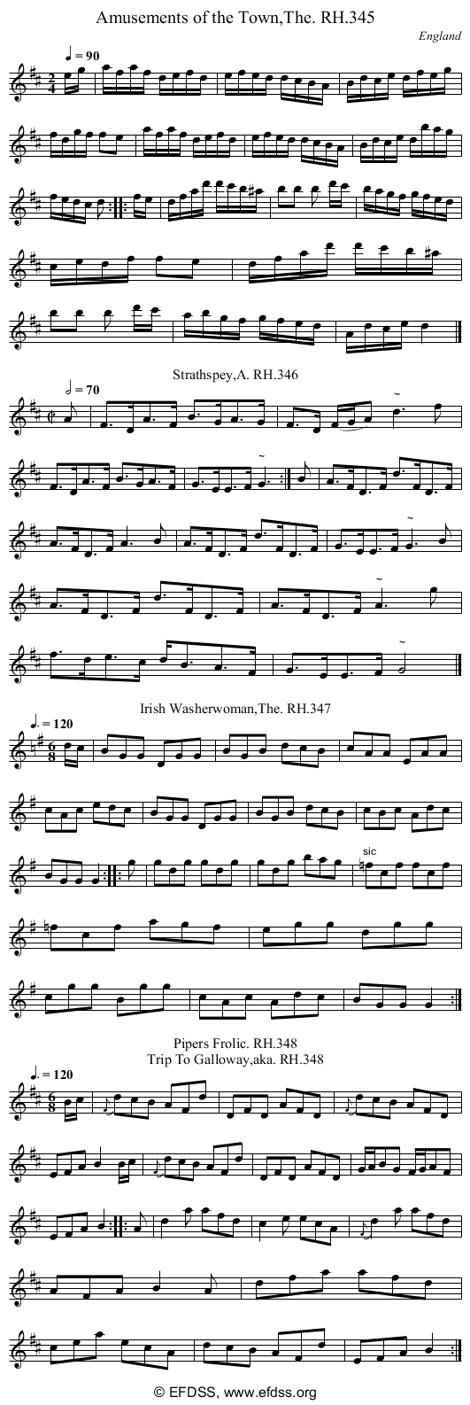 Stave transcription of image number 0 for 18473/p95