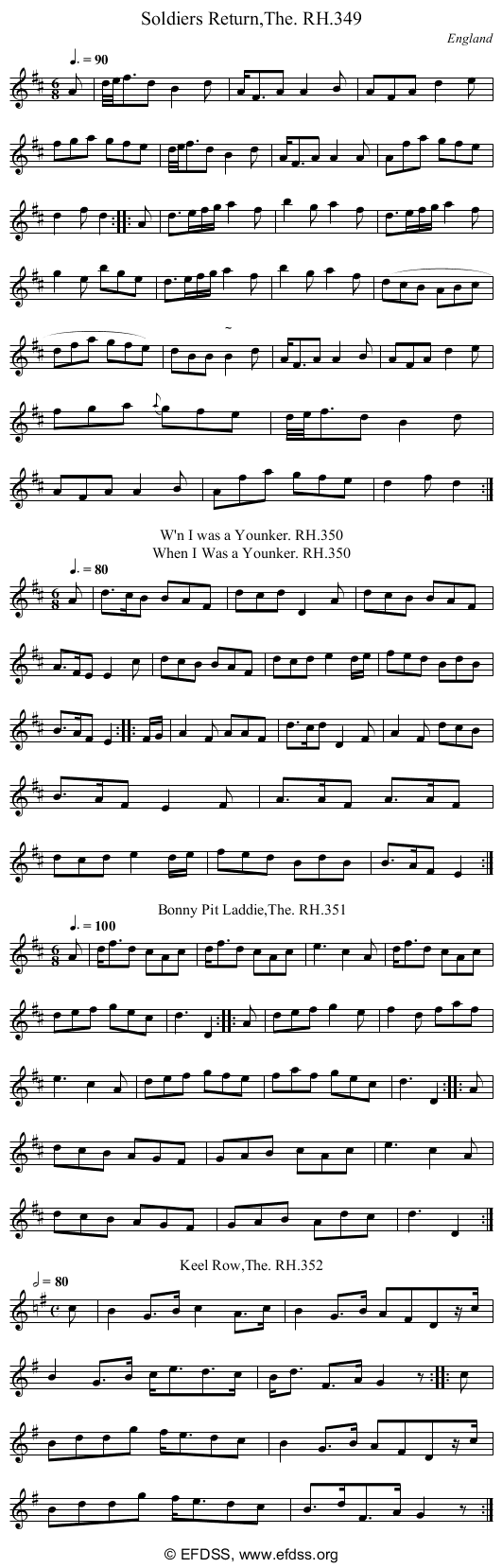 Stave transcription of image number 0 for 18473/p96