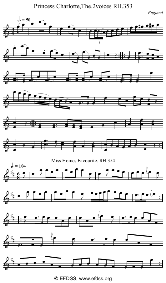 Stave transcription of image number 0 for 18473/p97