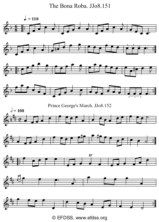 Stave transcription of image number 0 for 2184/p76