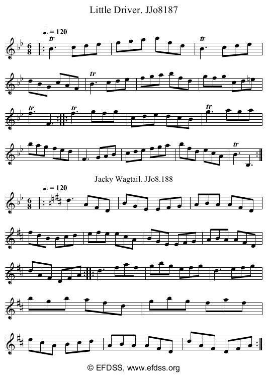 Stave transcription of image number 0 for 2184/p94