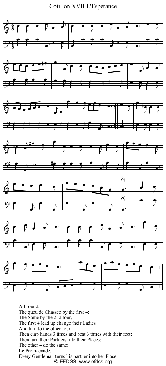 Stave transcription of image number 0 for 9236/p17