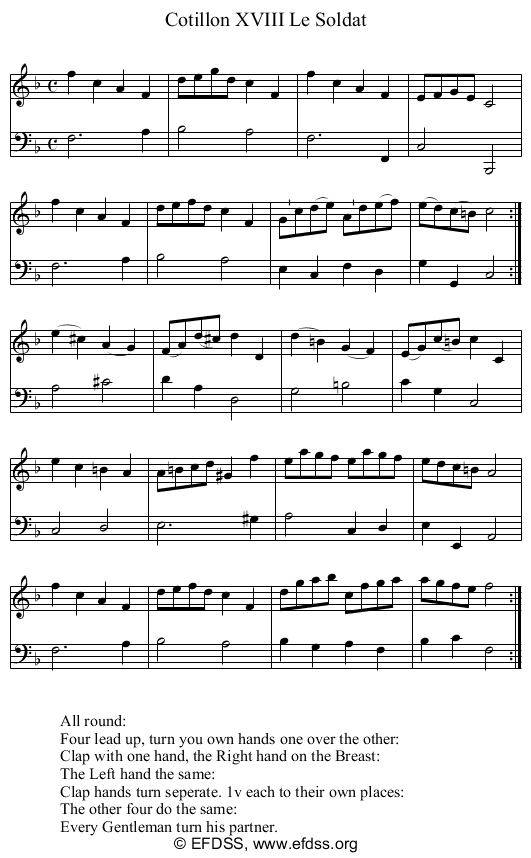 Stave transcription of image number 0 for 9236/p18