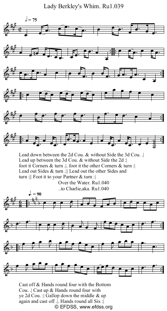 Stave transcription of image number 0 for 2248/p20