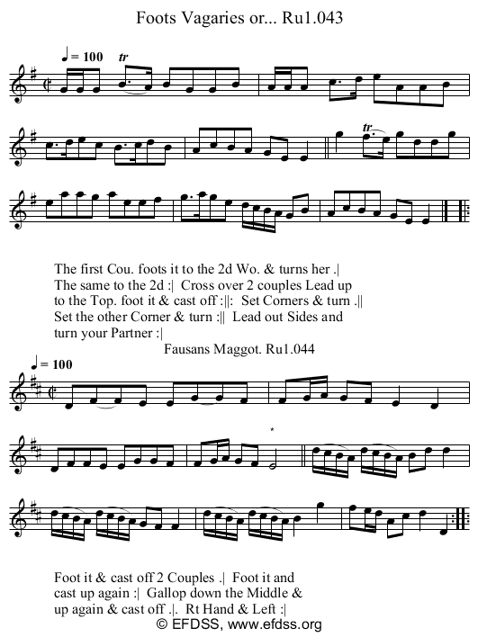 Stave transcription of image number 0 for 2248/p22