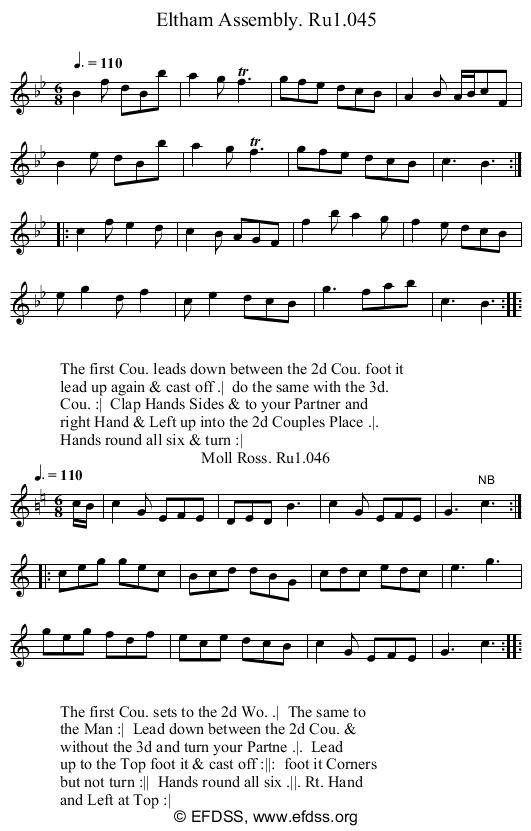 Stave transcription of image number 0 for 2248/p23