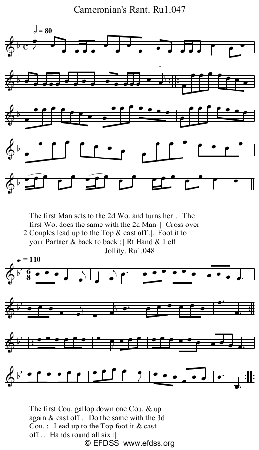 Stave transcription of image number 0 for 2248/p24