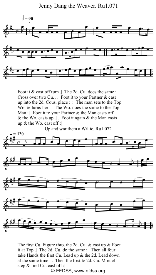 Stave transcription of image number 0 for 2248/p36
