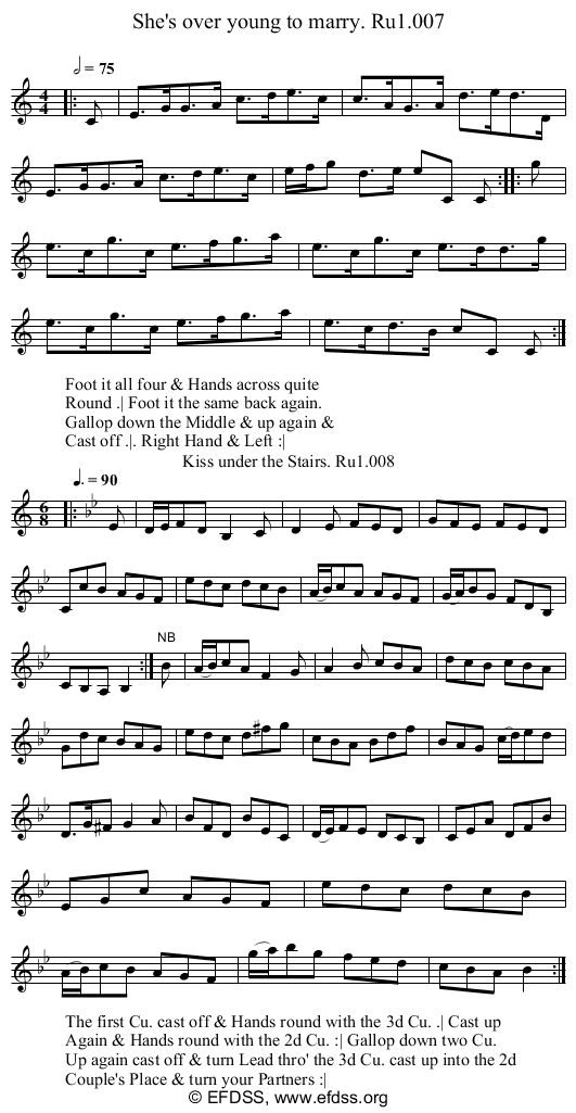 Stave transcription of image number 0 for 2248/p4