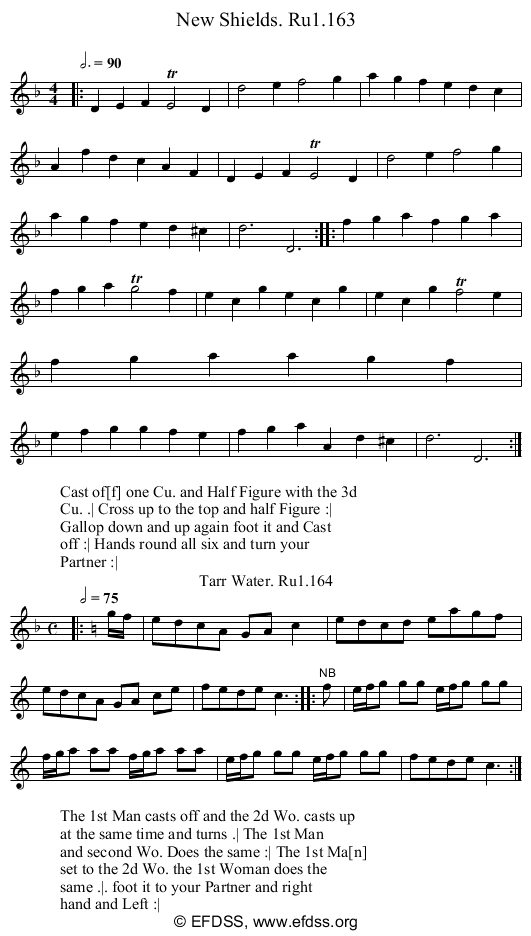 Stave transcription of image number 0 for 2248/p62