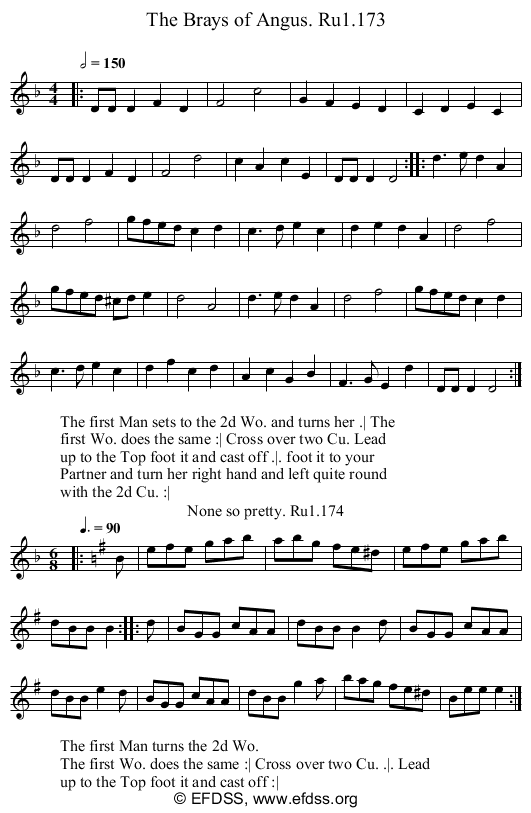 Stave transcription of image number 0 for 2248/p67