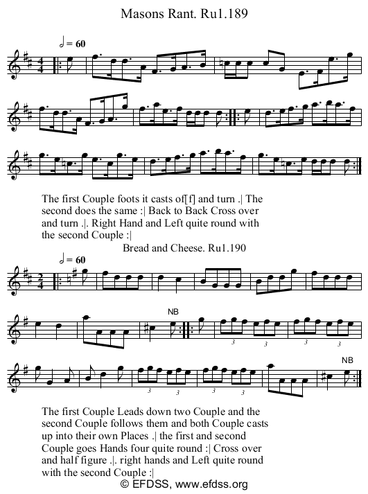 Stave transcription of image number 0 for 2248/p75
