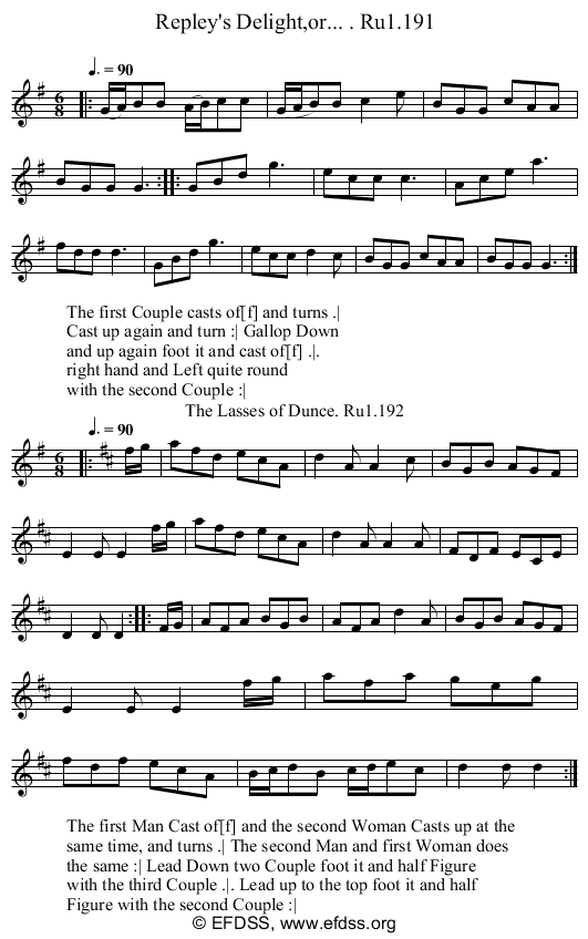 Stave transcription of image number 0 for 2248/p76