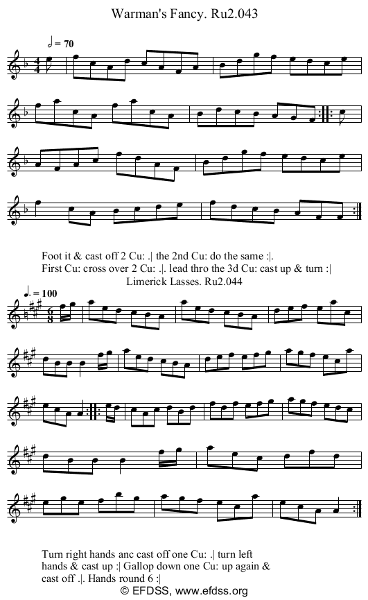 Stave transcription of image number 0 for 2249/p22