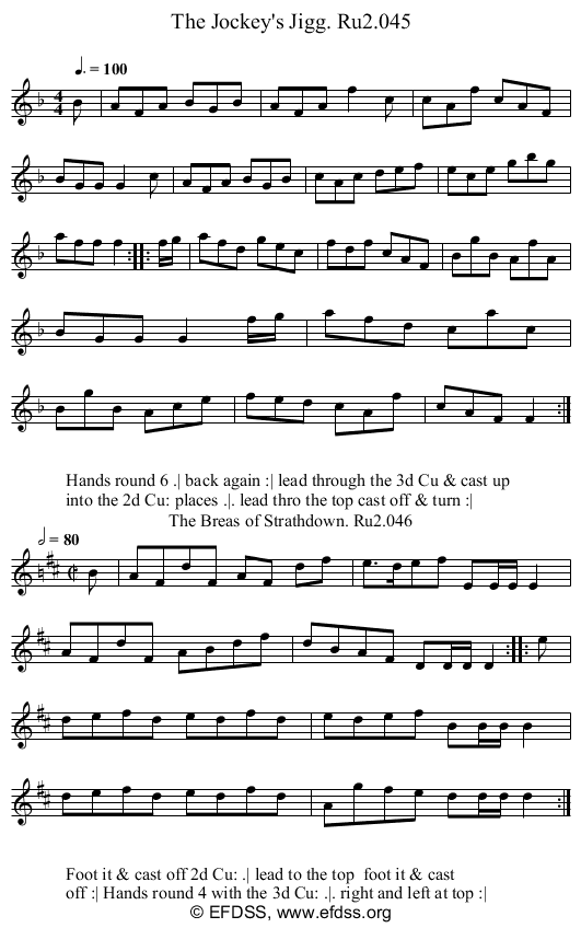 Stave transcription of image number 0 for 2249/p23