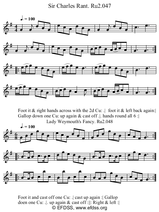 Stave transcription of image number 0 for 2249/p24