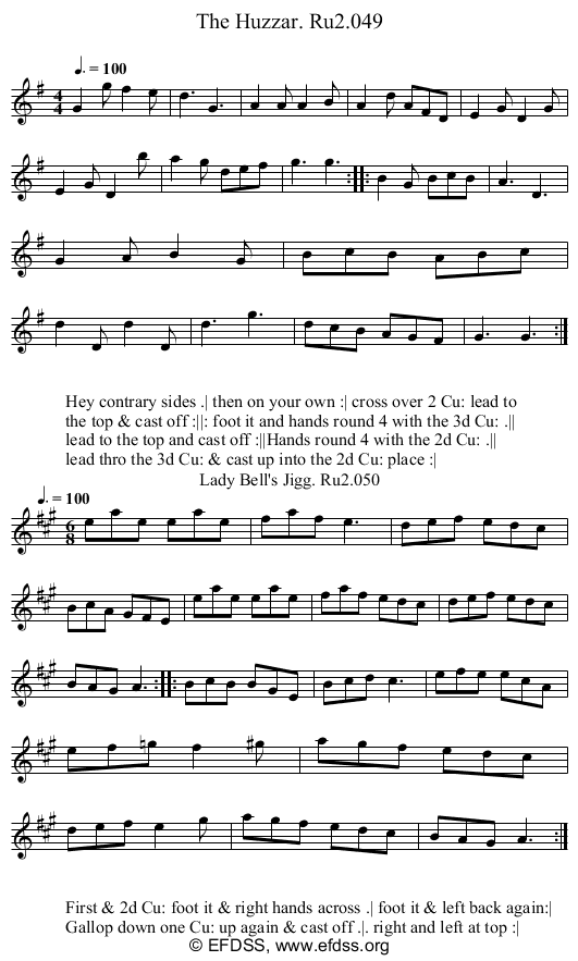 Stave transcription of image number 0 for 2249/p25