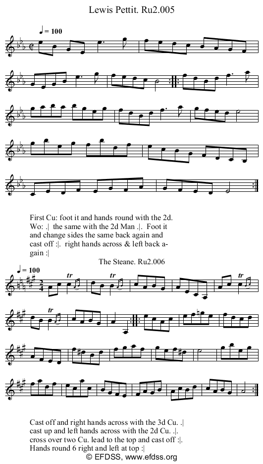 Stave transcription of image number 0 for 2249/p3