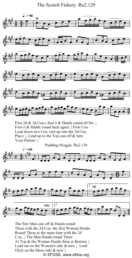 Stave transcription of image number 0 for 2249/p65