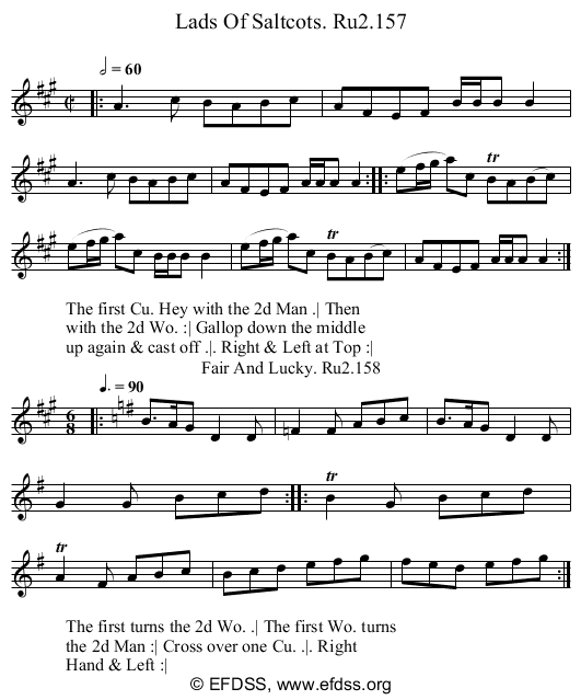 Stave transcription of image number 0 for 2249/p79
