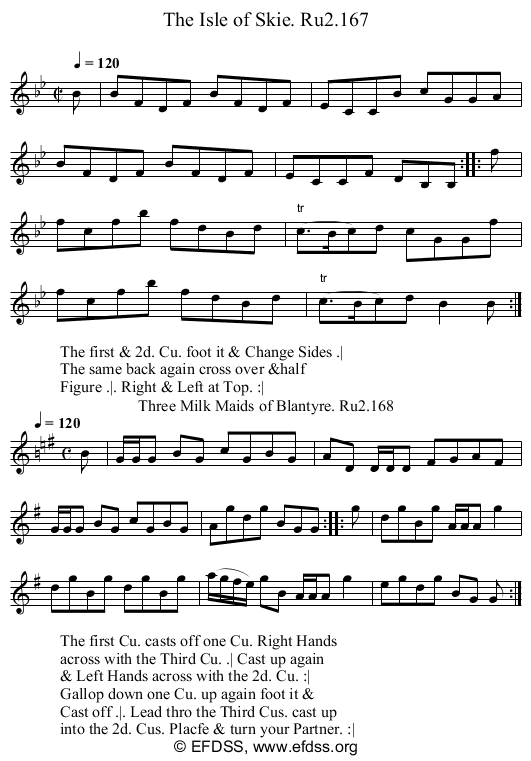 Stave transcription of image number 0 for 2249/p84