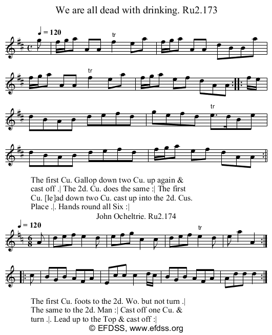 Stave transcription of image number 0 for 2249/p87
