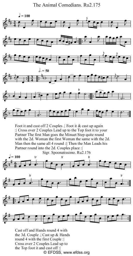 Stave transcription of image number 0 for 2249/p88