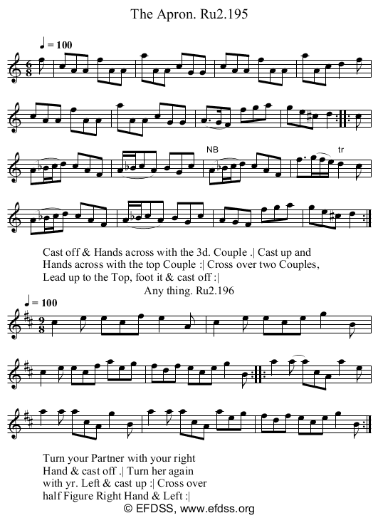 Stave transcription of image number 0 for 2249/p98
