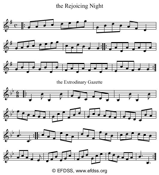 Stave transcription of image number 0 for 2277g/p5
