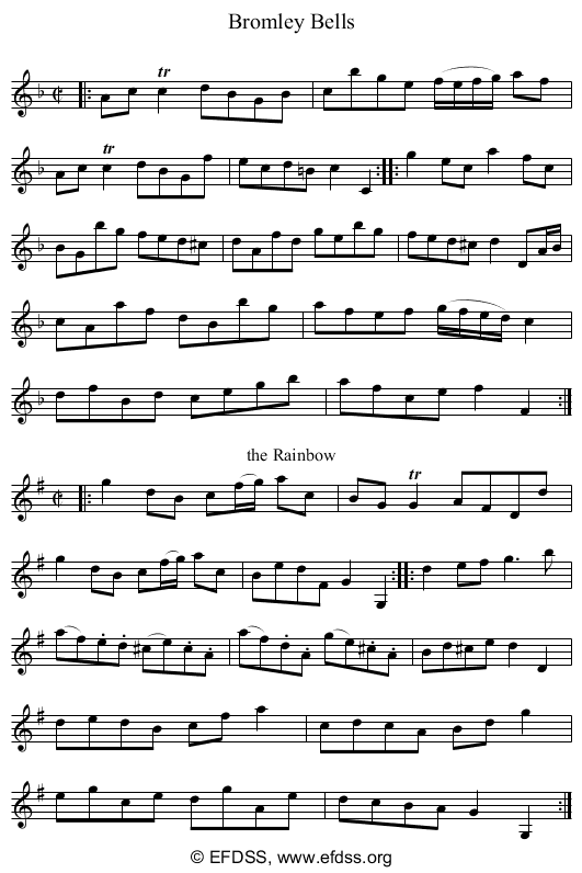 Stave transcription of image number 0 for 3047/p13