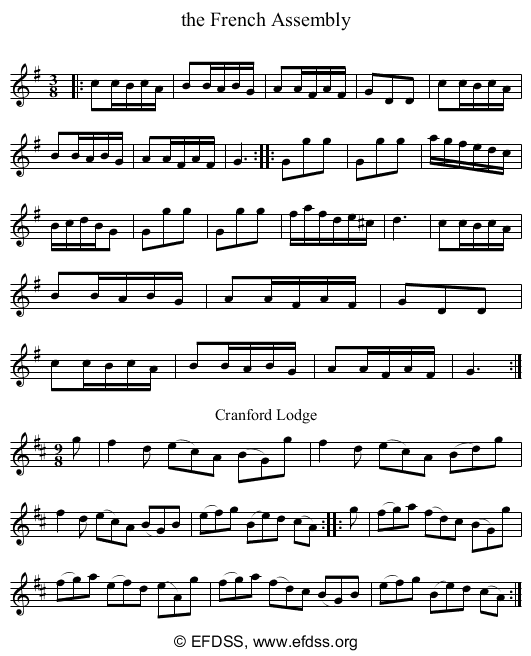 Stave transcription of image number 0 for 3047/p17