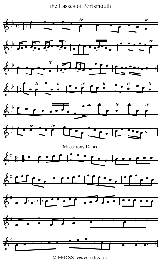 Stave transcription of image number 0 for 3047/p21