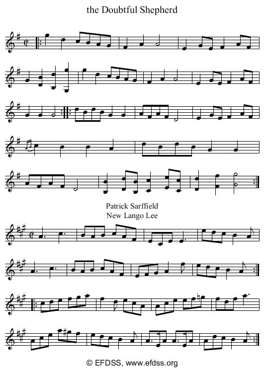 Stave transcription of image number 0 for 2277h/p90