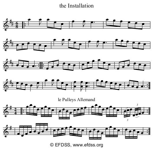 Stave transcription of image number 0 for 2277h/p95