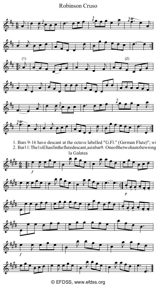 Stave transcription of image number 0 for 2277k/p75