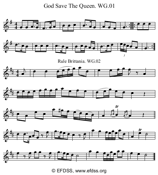 Stave transcription of image number 0 for 2222/p1