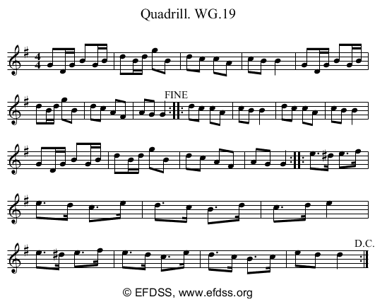 Stave transcription of image number 0 for 2222/p16
