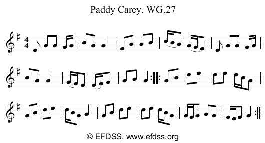 Stave transcription of image number 0 for 2222/p23