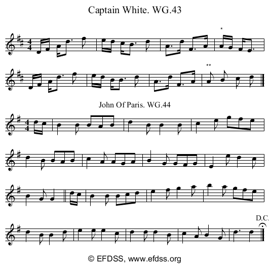 Stave transcription of image number 0 for 2222/p40