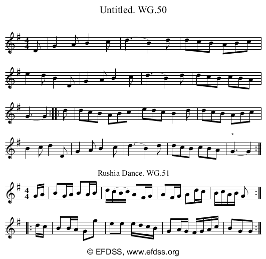 Stave transcription of image number 0 for 2222/p46