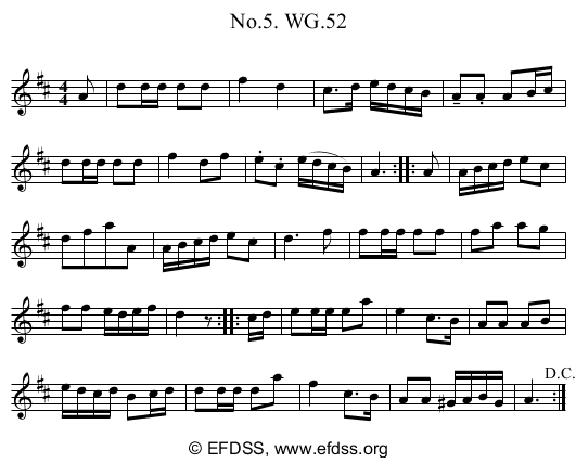 Stave transcription of image number 0 for 2222/p47