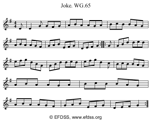 Stave transcription of image number 0 for 2222/p60