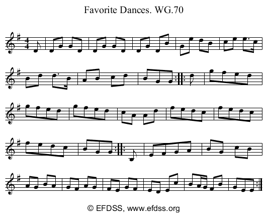 Stave transcription of image number 0 for 2222/p66